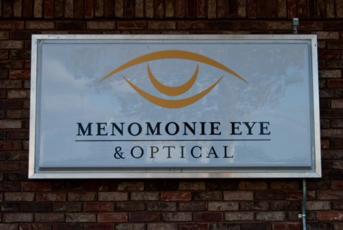 Menomonie Eye & Optical Lighted Sign