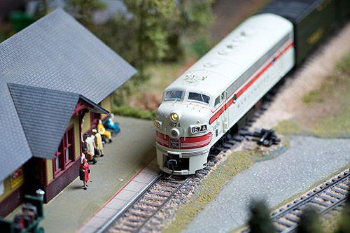 Model Railroad Display