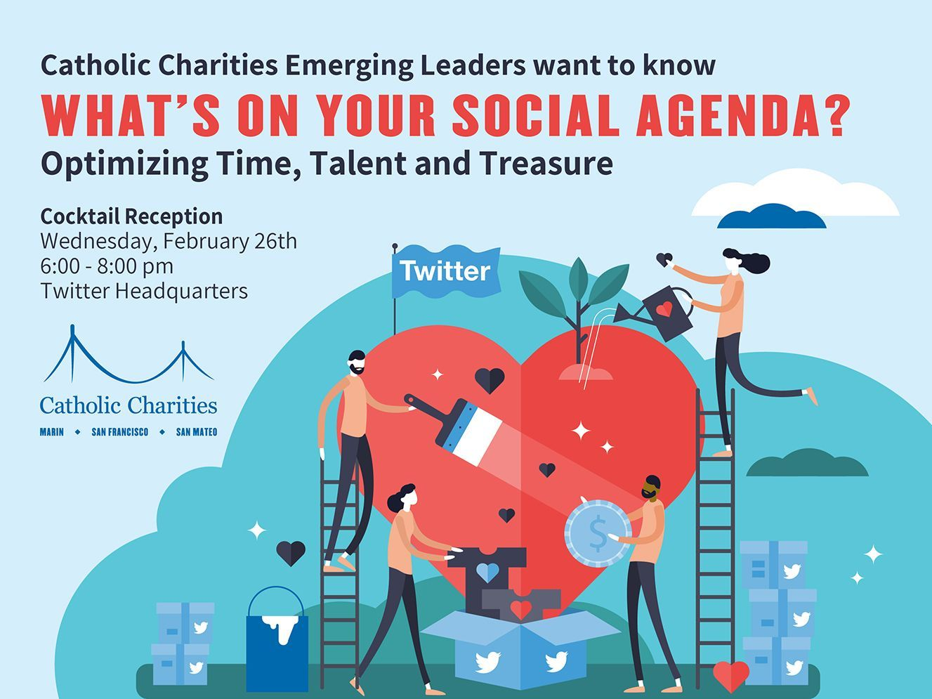 Social Good Event at Twitter, February 26th