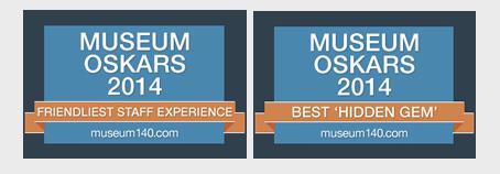 NCM Honored with 2014 Museum Oskars