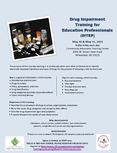 Drug Impairment Training for Education Professionals