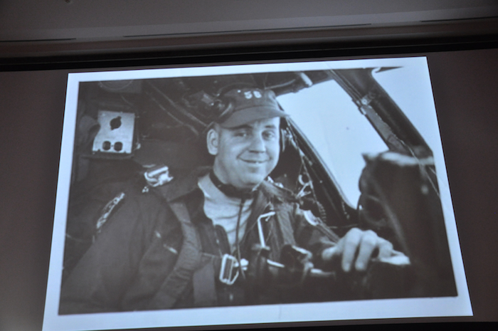 Linc Faurer during his USAF career.