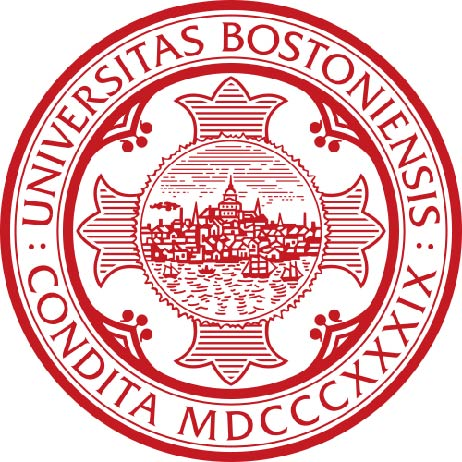 Y34324 - Carved 2.5-D HDU Wall Plaque of the Great Seal of Boston University