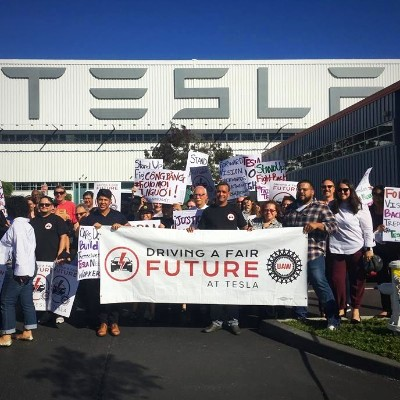 The Fair Future at Tesla Campaign