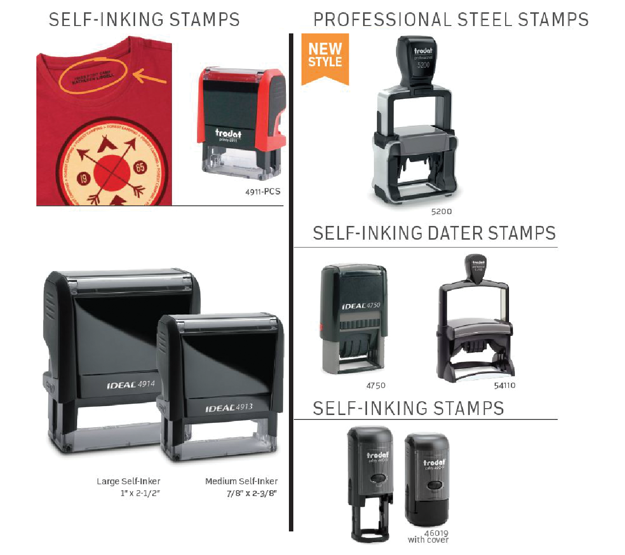 Stamps (Self-Inking)