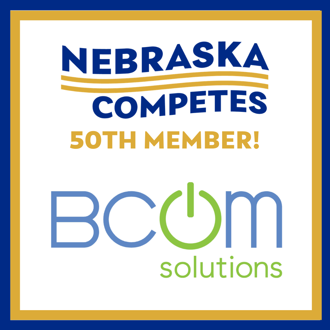 Nebraska Competes welcomes its 50th member!
