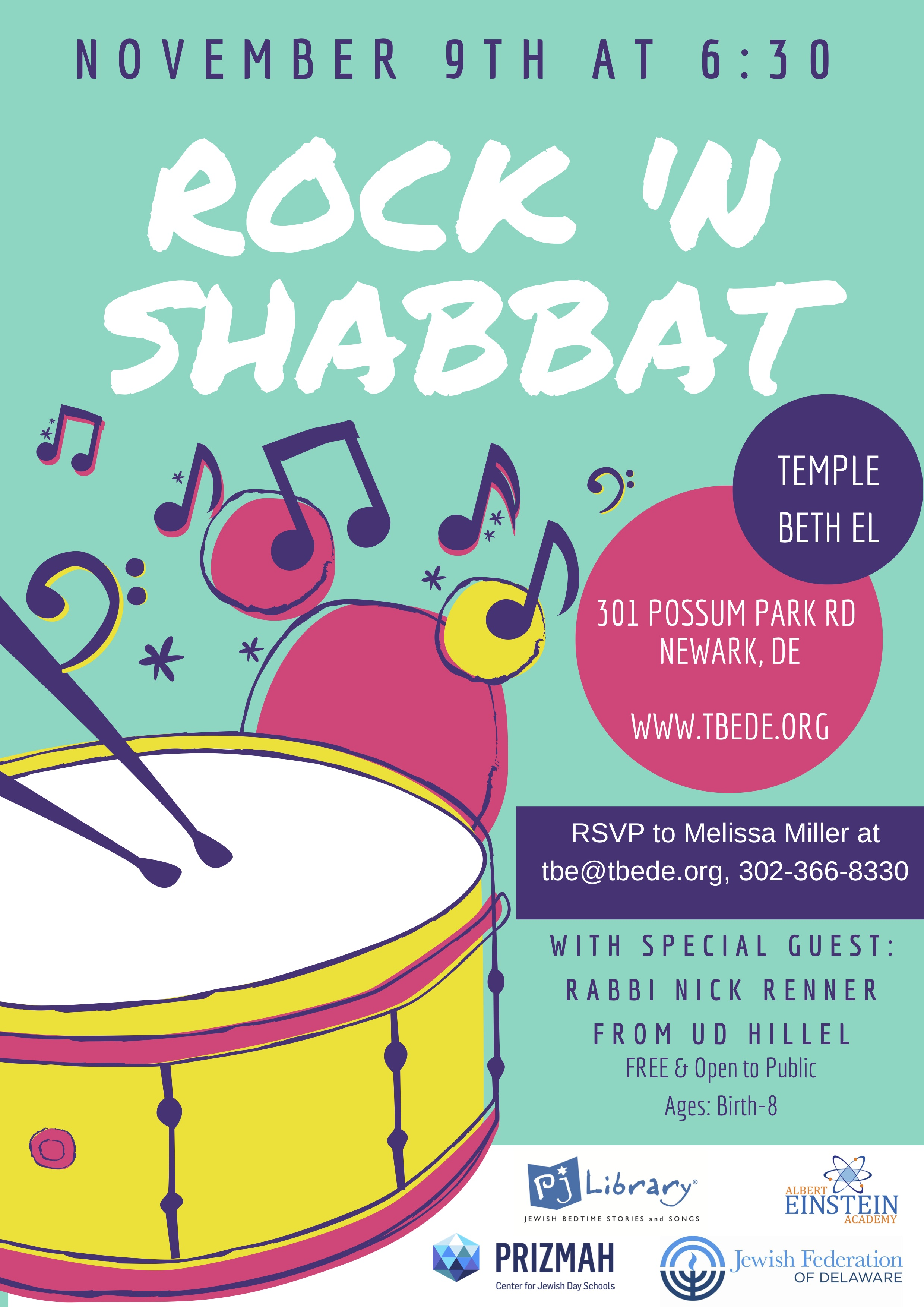 Rock 'N Shabbat with Beth El