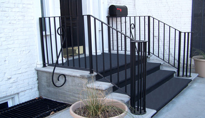 Custom Made to Order Metal Railings