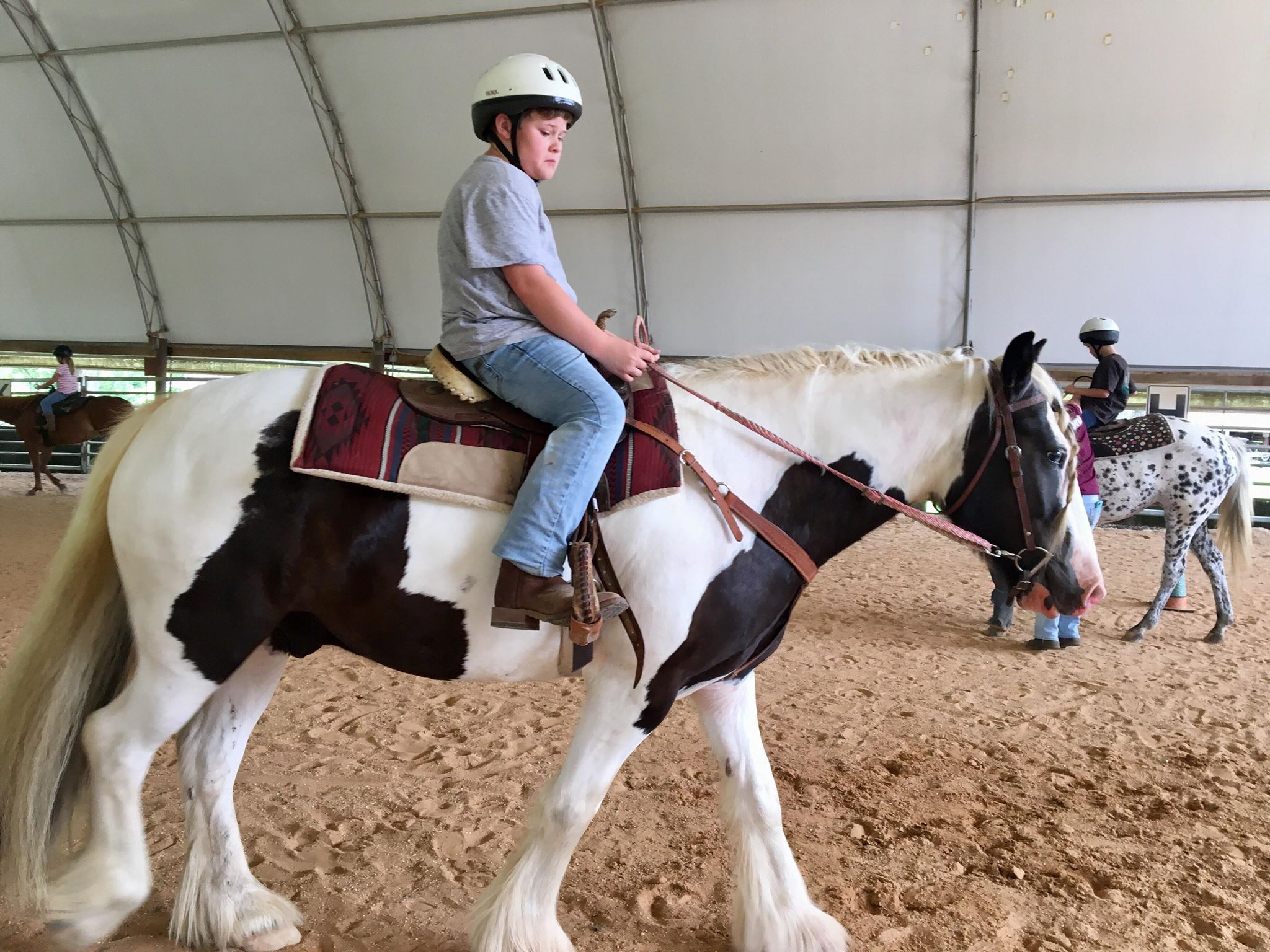 Intermediate Western Horse Camp for Ages 7 - 18