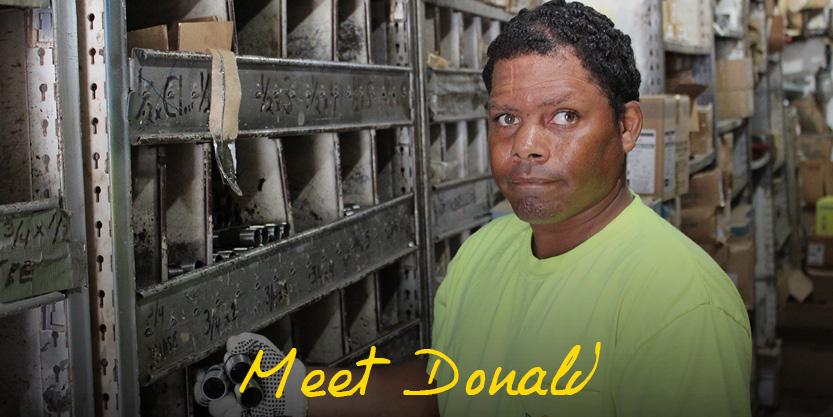 Meet Donald