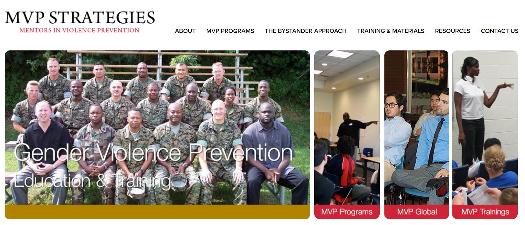 Mentors in Violence Prevention: MVP Violence Prevention