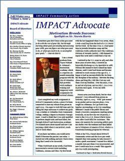 IMPACT Advocate~Fall/Winter 2014