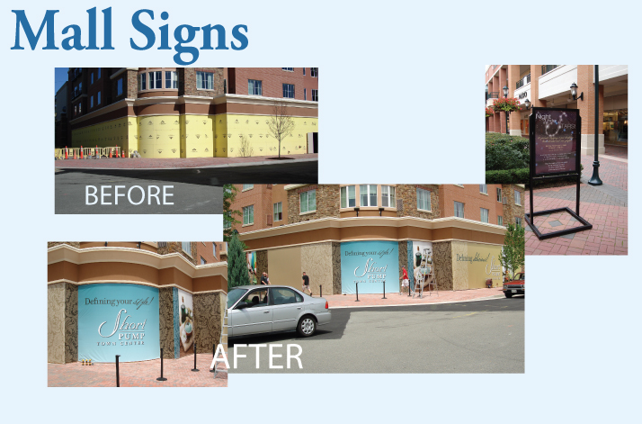Mall Signs