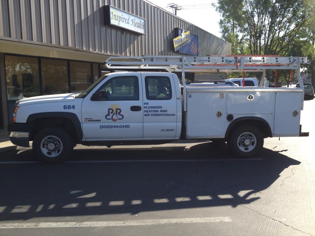 PR Plumbing Truck