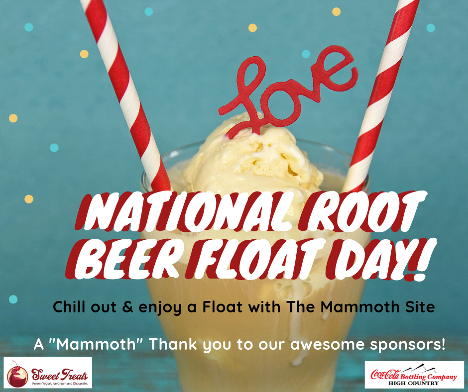 Root Beer Floats at The Mammoth Site
