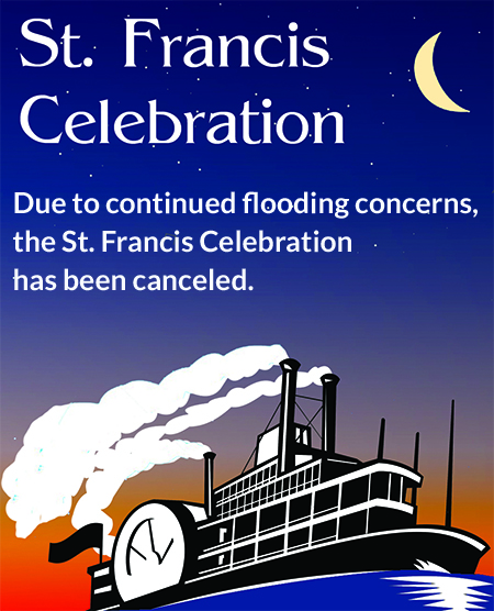 The St. Francis Celebration has been canceled
