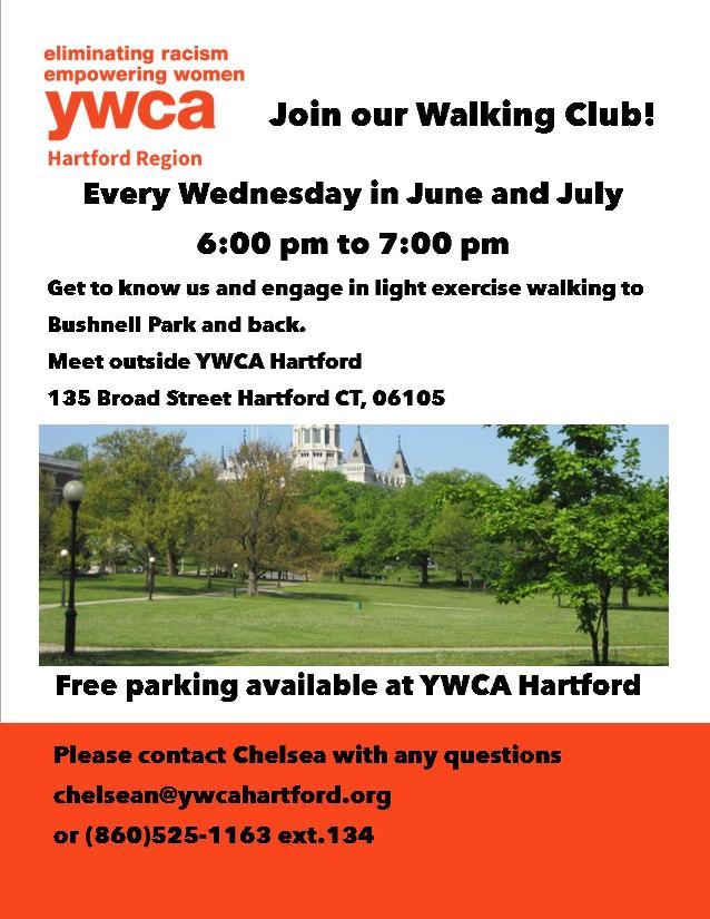 YWCA Hartford Region Walking Club