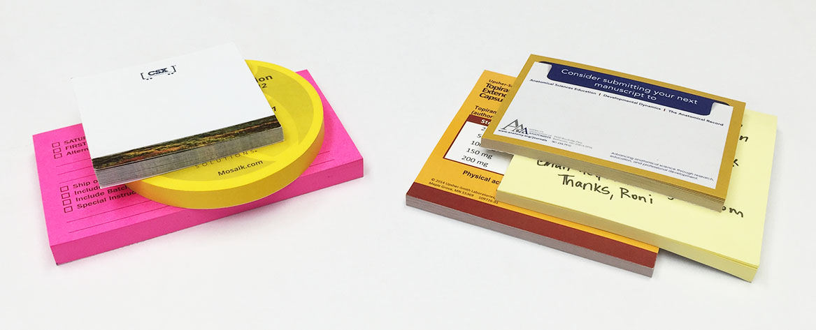 Custom Post-it® Notes are only a click away.