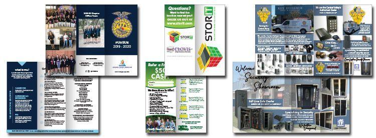 Brochure Printing, Visalia, Tulare, Hanford, Three Rivers