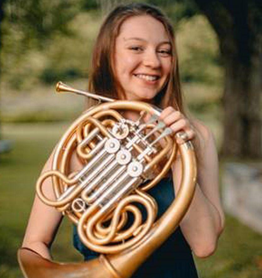 Stephanie Fritz, horn