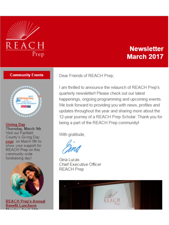 Newsletter: March 2017