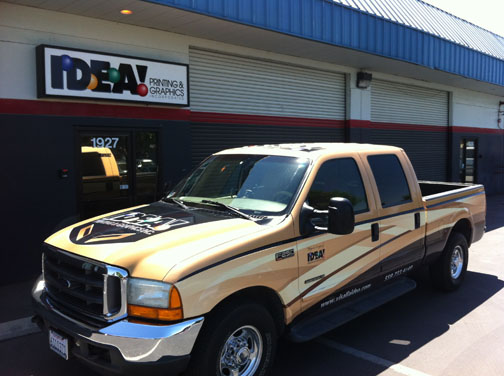63 Chevy Truck >> Vehicle Wrap Gallery | Visalia Idea Printing & Graphics