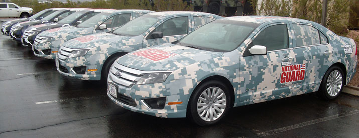 National Guard Fleet Wraps