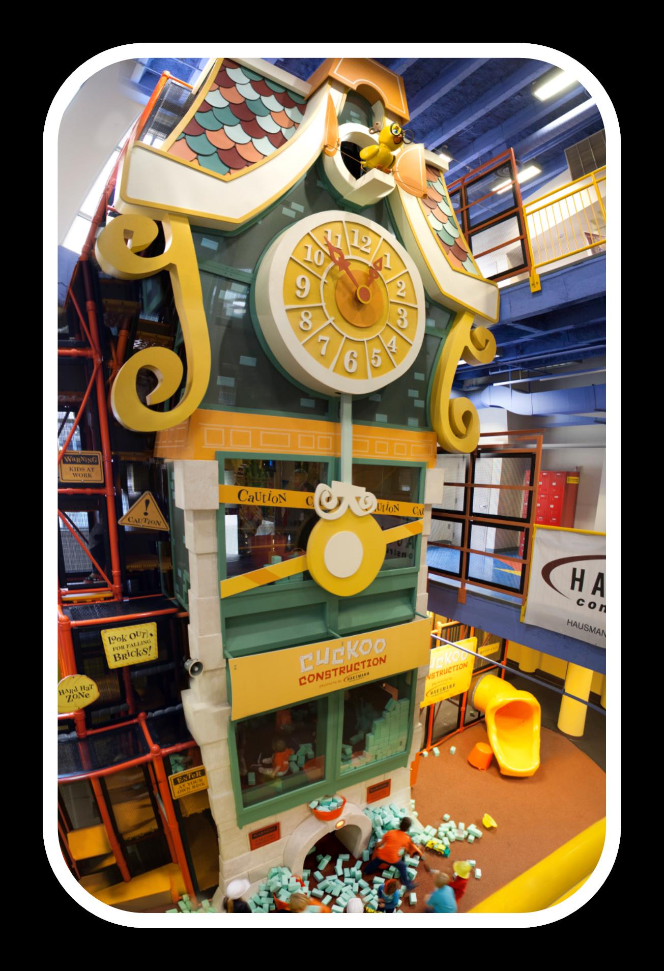Hausmann Construction Cuckoo Construction Clock