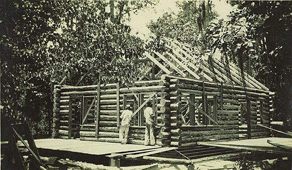 Cabin Construction 1931