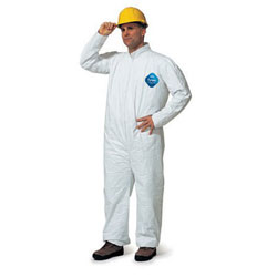 A10UB060 X-Large Tyvek Coverall 25/Pkg