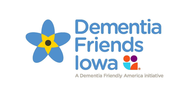 Dementia Friends Iowa logo