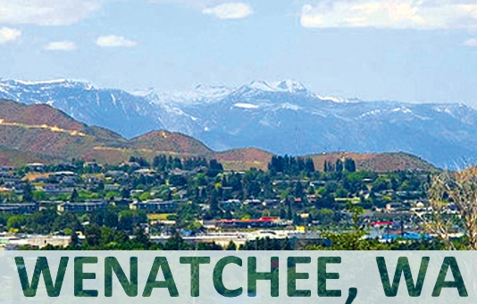 Twisp to Wenatchee Trip