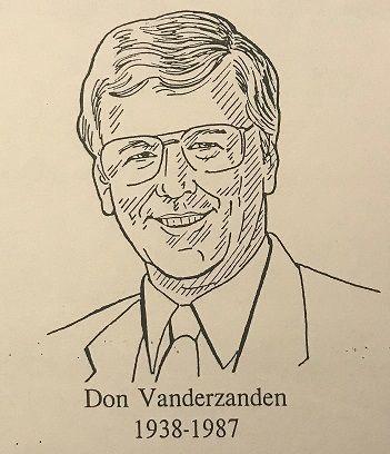 Vanderzanden - Donald W. Vanderzanden Memorial Award