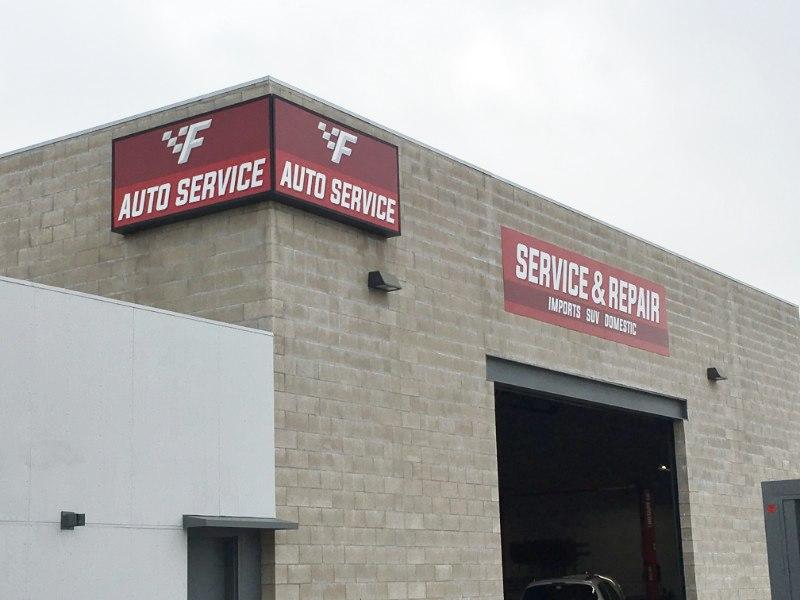 Auto Repair Signs
