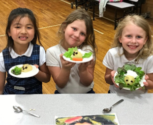 6/1/19: Kids CAFE at Sacred Heart School