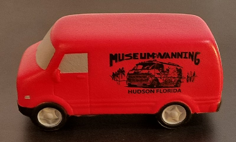 Museum Stress Relief Van (Red)