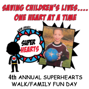 Super Hearts Walk & Family Fun Day (New Jersey)