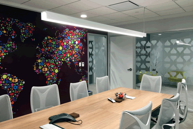 Wall graphics wraps sign partners sign company boca Interior design firms in charlotte nc