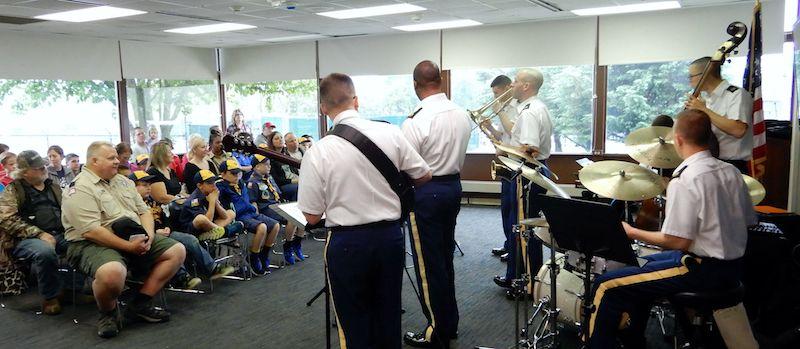 The Ambassadors Jazztet of the U.S. Army Field Band