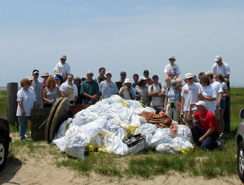 Bolivar Flats Beach Clean-up