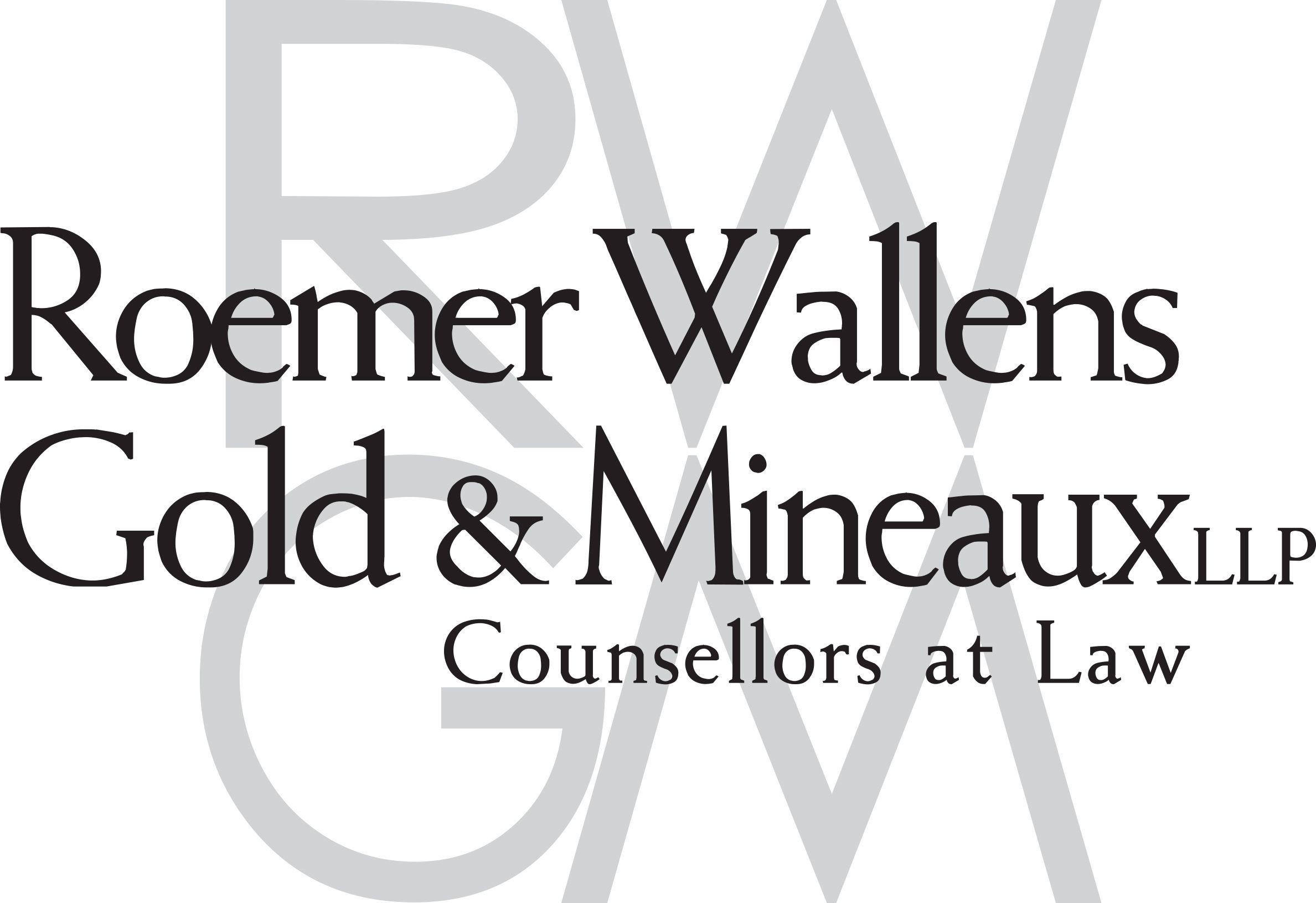Roemer Wallens Gold & Mineaux LLP