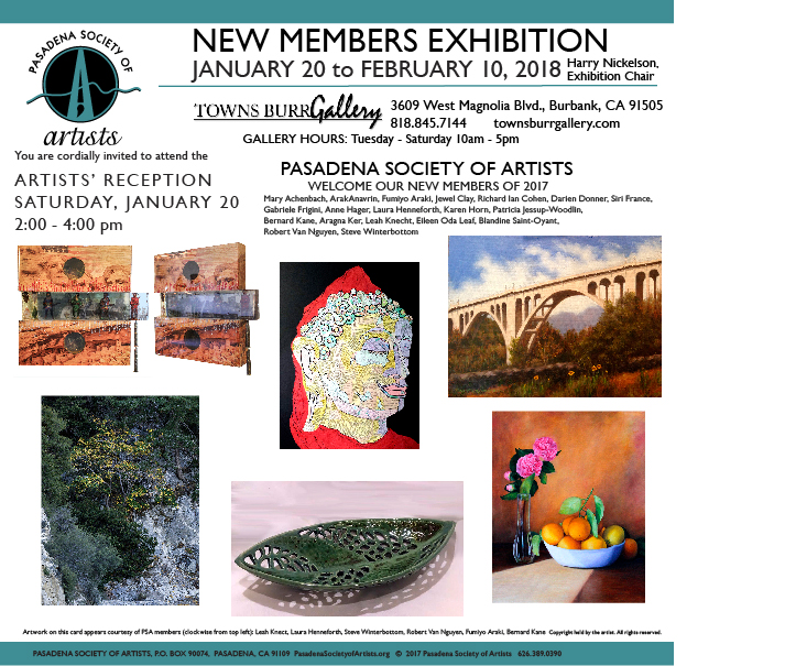 1/20/2018 - New Members Exhibition