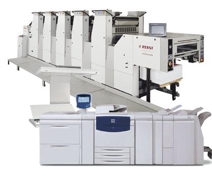 5-Color Press & Digital Xerox Press brochures, postcards, manuals, flyers, posters albany ny printer