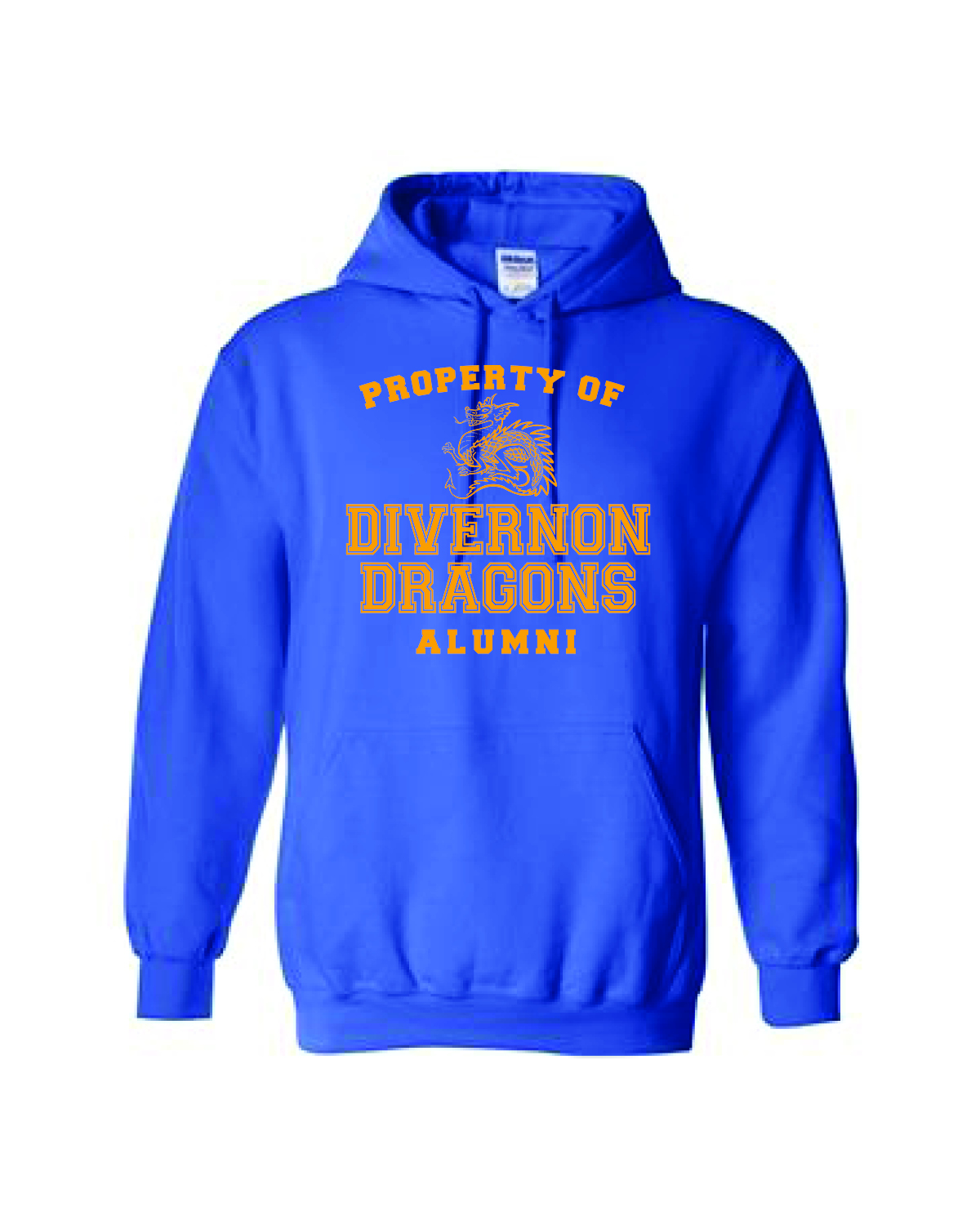 HOODED SWEATSHIRTS - BLUE