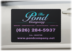 Business printing graphic design print technology burbank ca patterson graphics can even produce business card sized magnetic signs for promotional or internal use colourmoves