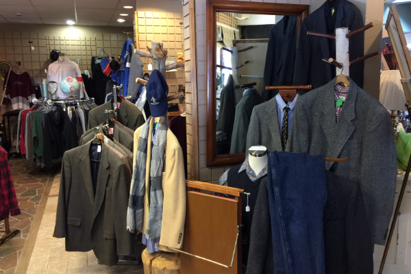 Men's Suits, Shirts, Pants & More