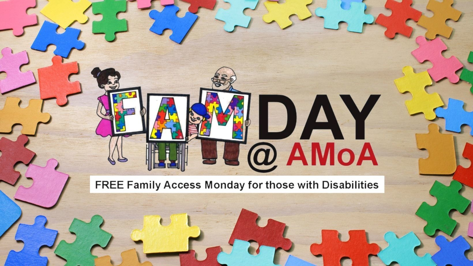 FREE Family Access Monday for those with Disabilities!