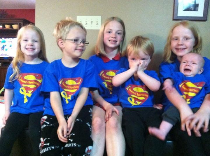 ALL the Kuhl munchkins!! Sending love to Sam!