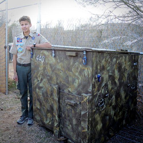 Wolf Den - Eagle Scout Project