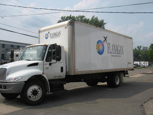 Fleet Graphics, Large Box Truck, Lettering & Logo Graphics